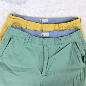 [ J. Crew ] Bundle Shorts • Men's 32